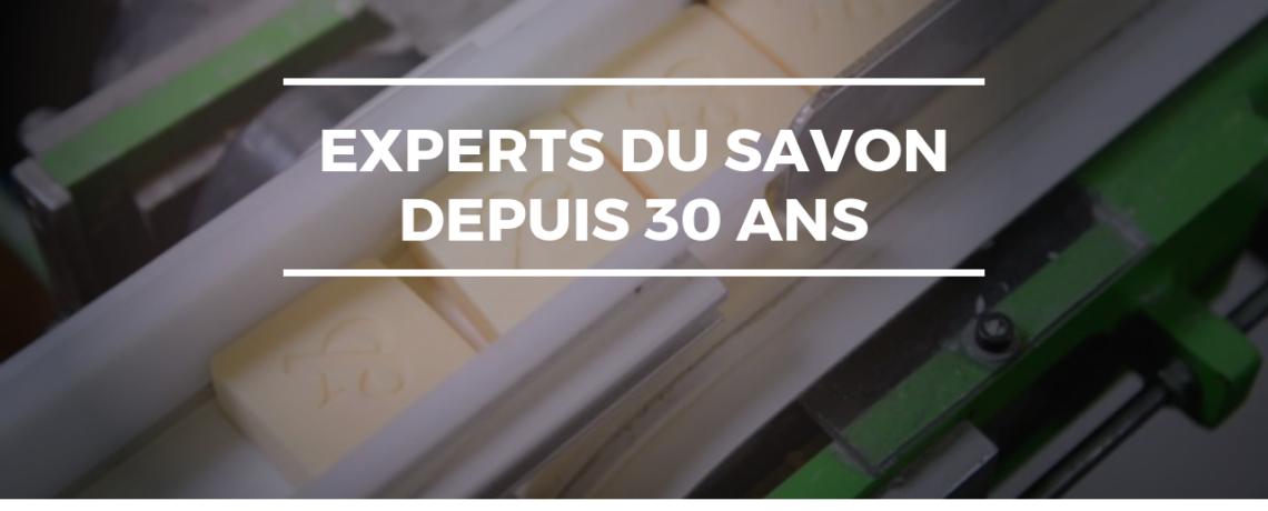 les expert du savon depuis 30 ans
