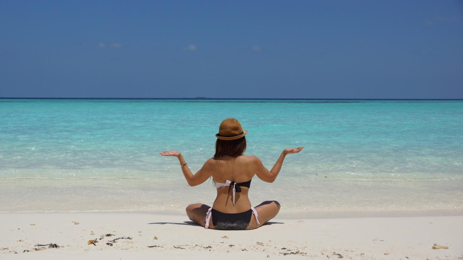 zen à la plage