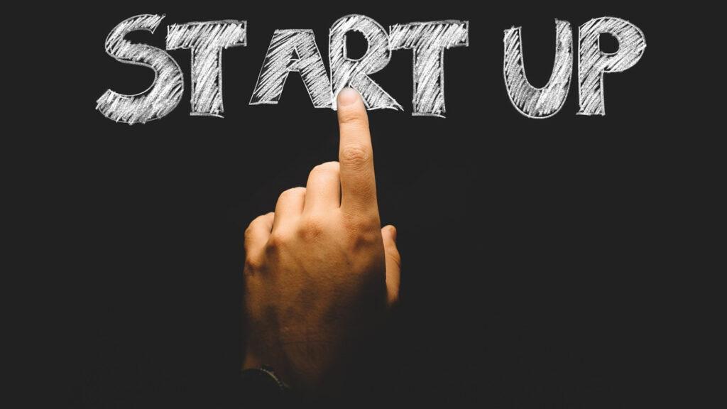 mettre le doigt sur la start up